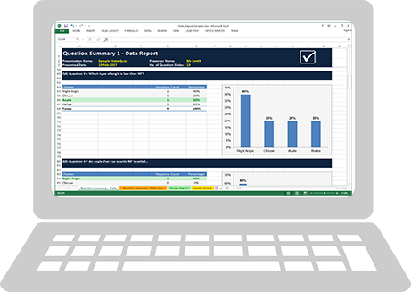 iVote Report Manager excel report