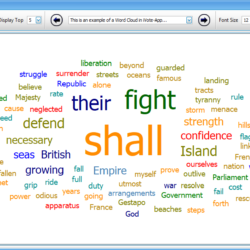 iVote-App Word Cloud